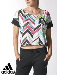 Women's Adidas 'RL AOP' T Shirt (M64593) x6 (Option 1): £4.95